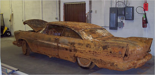 1957 Plymouth Burried for 50 Years Unearthed
