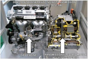 Toyota Prius Inverter / Assist Motors 